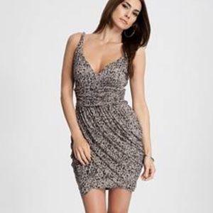 Strap print dress by Guess